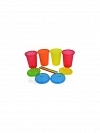KIT 4 COPOS COM CANUDO COLORIDOS 296ML -THE FIRST YEARS F1157